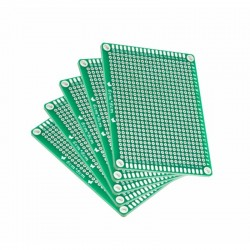 Lubang Paket PCB Hijau