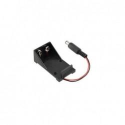 Battery Holder 9V + Jack