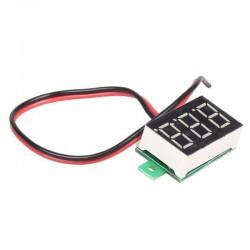 "Volt Meter DC 2 Wire 0.28""..."