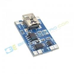 USB Mini + Protection – TP4056