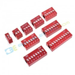 DIP Switch 1 Digit
