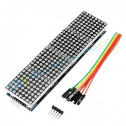 4x LED Matrix MAX7219 – Merah