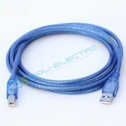 Kabel USB MINI  Biru 30cm