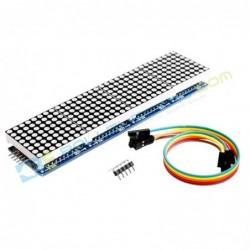 4x LED Matrix MAX7219 – Biru
