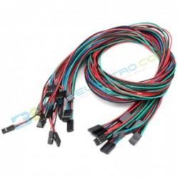 Kabel Dupont F-F 70cm 3 Pin