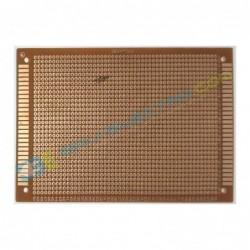 PCB Coklat Lubang 9x15 cm