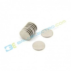 Magnet Neodymium Bulat 15x1mm