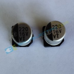 Elco SMD 220μF 16V