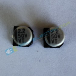 Elco SMD 2.2μF 50V
