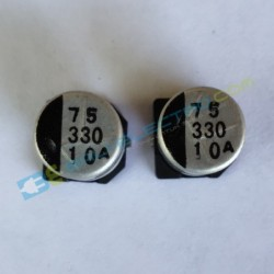 Elco SMD 330μF 10V