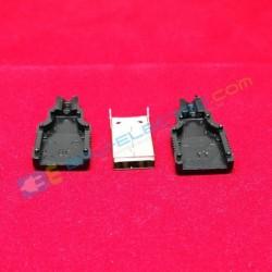 Jack USB Male + Case