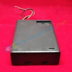Battery Holder 3x AA + Penutup