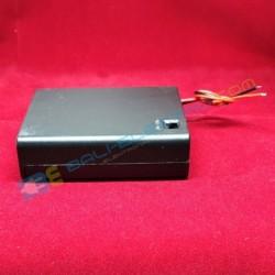 Battery Holder 4x AA + Penutup