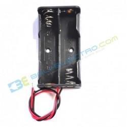 Battery Holder 2x AA + Penutup
