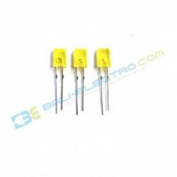 2*5*7mm LED Kotak Kuning