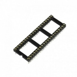 Socket IC - 40Pin Bulat