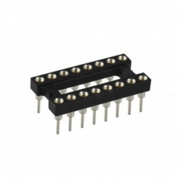 Socket IC - 16Pin Bulat