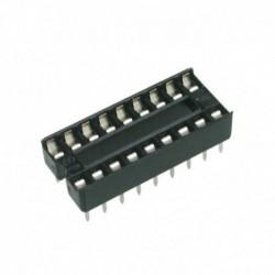 Socket IC - 18Pin Bulat x2