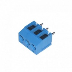 T  Blok KF-301 - Biru 3 Pin
